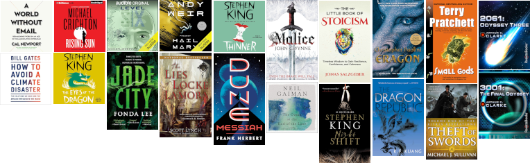 📚 Book Haul for May 2021