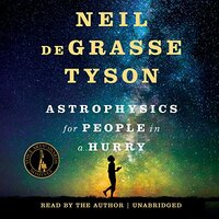 📚 Astrophysics for People in a Hurry by Neil Degrasse Tyson (2017) ★★★★☆