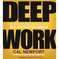 📚 Deep Work by Cal Newport (2016) ★★★★☆