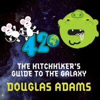 📚 Hitchhiker's Guide to the Galaxy (Hitchhiker's Guide to the Galaxy Book 1) by Douglas Adams (1979) ★★★★☆