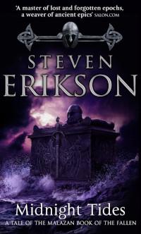📚 Midnight Tides (Malazan Book of the Fallen Book 5) by Steven Erikson (2004) ★★★★★
