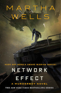 📚 Network Effect (The Murderbot Diaries Book 5) by Martha Wells (2020) ★★★☆☆