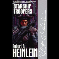 📚 Starship Troopers by Robert A. Heinlein (1959) ★★★☆☆