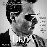 📚 The Rum Diary by Hunter S. Thompson (1998) ★★★☆☆